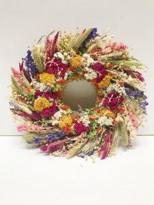 Full Belly Farm Dried Floral Wreath