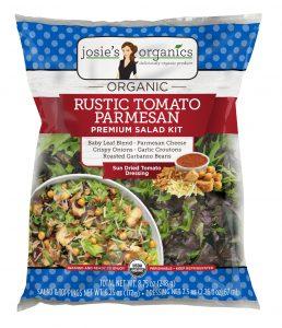 Josies Rustic Tomato Parmesan Salad